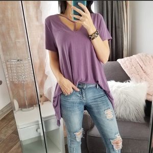 Wisteria Washed Modal Tunic Top ⭐️